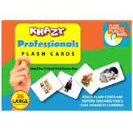 Krazy Professionals Flash Cards