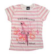 Max Half Sleeve T-Shirt Pink/White
