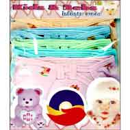 Multi Colour Nappy Set(Hosiery ALOP) M